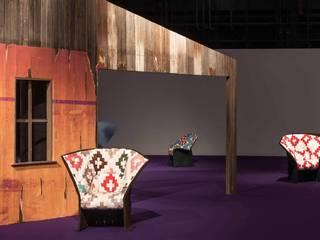 Le fauteuil Feltri de Gaetano Pesce par Cassina dans une édition limitée réinterprétée par Raf Simons:  de style  par Création Contemporaine