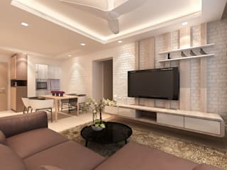Modern living room by March Atelier Modern