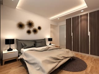Modern style bedroom by March Atelier Modern