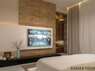 YN House, Interior Design Kamar Tidur Modern Oleh dk.std.id Modern