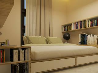 dk.std.id Camera da letto moderna Compensato