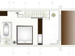 Projetos hoteis- Estudo interior por Nuno Ladeiro, Arquitetura e Design