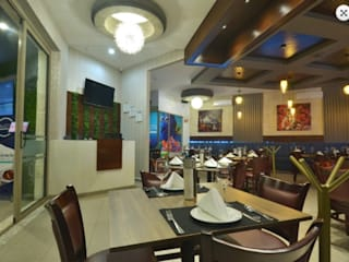Restaurant B1 Gastronomía de estilo moderno de Miranda Paez Arquitectura Interior Moderno