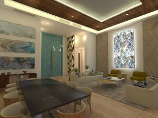 CASA NV01 Comedores modernos de Miranda Paez Arquitectura Interior Moderno