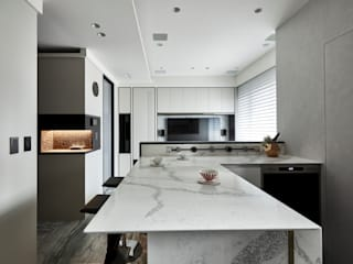 耀昀創意設計有限公司/Alfonso Ideas Scandinavian style dining room