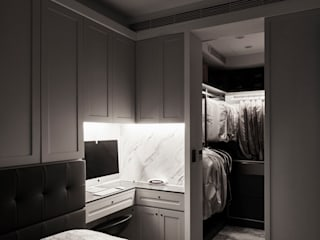 耀昀創意設計有限公司/Alfonso Ideas Scandinavian style dressing room