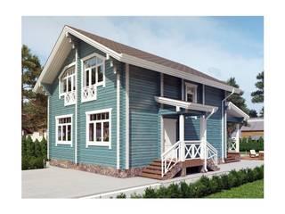 Индивидуальный дом из профилированного бруса от Home Architect Классический