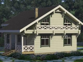 Индивидуальный жилой дом из бруса от Home Architect Классический