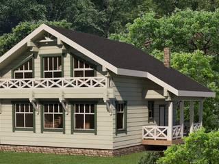 Индивидуальный жилой дом из бруса от Home Architect Кантри