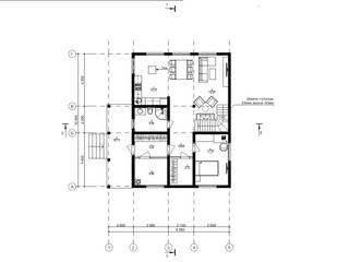 Индивидуальный жилой дом из бруса от Home Architect Скандинавский