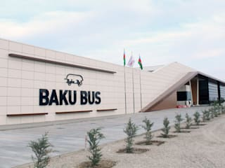 Baku Bus Station Modern houses by Tolga Archıtects Modern