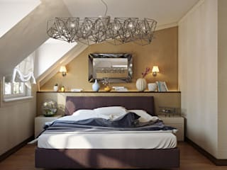 Baku S House Modern style bedroom by Tolga Archıtects Modern