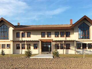 Adatarım Farm Administrative and Accommodation Buildings Tolga Archıtects Kırsal/Country