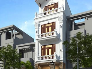 Dự án nhà 4 tầng - Anh Nho(Bắc Giang):   by Nha Dep Pro