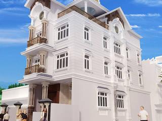 Biệt thự 3 tầng ông Thanh bởi Biet Thu Pho Dep