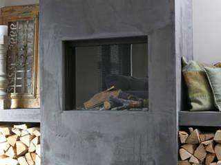 Livings de estilo escandinavo de Molitli Interieurmakers Escandinavo