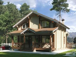 Индивидуальный дом из клееного бруса от Home Architect Классический