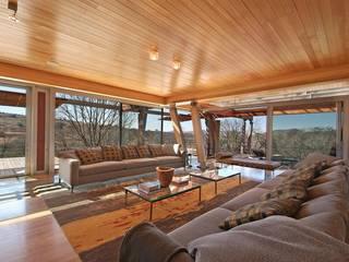 Highveldt House, Cradle of Humankind Modern living room by Van der Merwe Miszewski Architects Modern