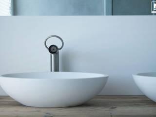 Baños de estilo escandinavo de Molitli Interieurmakers Escandinavo
