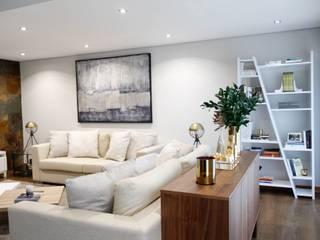 Sala de Estar: Salas de estar modernas por  Rita Salgueiro - Full Ideas
