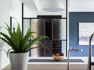 Industrial style dining room by 果仁室內裝修設計有限公司 Industrial