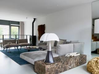 غرفة المعيشة تنفيذ Baden Baden Interior , حداثي