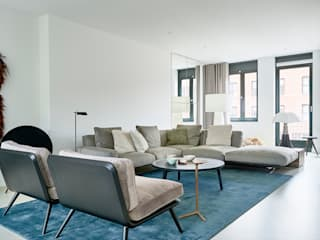 Woonhuis Amsterdam Moderne woonkamers van Baden Baden Interior Modern