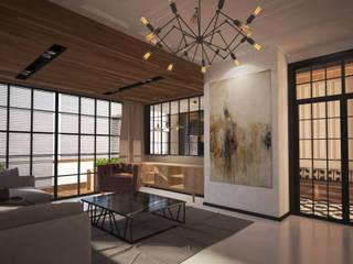 Kargaraj İç Mimarlık Tasarım Atelyesi – ÇİVRİL DUBLEKS EV TASARIMI : minimalist tarz , Minimalist