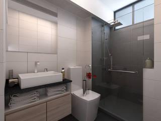 Baños modernos de March Atelier Moderno