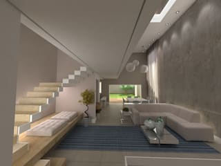 Projeto Residencial K&I por Karina Christofaro Arquiteta Moderno