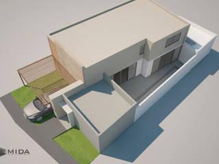Render Casas minimalistas de MIDA Minimalista