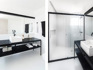 INÁ Arquitetura Baños de estilo minimalista