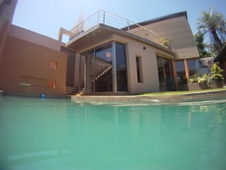 IP - Quincho | Sauna | Pileta Piletas modernas: Ideas, imágenes y decoración de Módulo 3 arquitectura Moderno