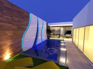 Jardin MM de Miranda Paez Arquitectura Interior Moderno