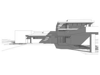 Construcción de Casa Munchmeyer Rumpf por Arqbau: Casas de estilo  por Arqbau Ltda.