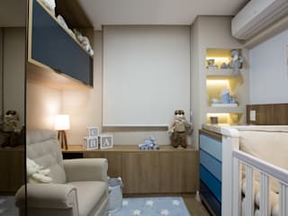 modern Nursery/kid's room by INOVA Arquitetura