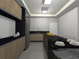 Kitchen units by Aline Monteiro ,