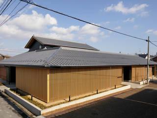 伊賀上野の家 外観 の 株式会社 森本建築事務所 モダン