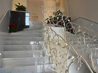 Canalmarmi e Graniti snc 樓梯 大理石 White