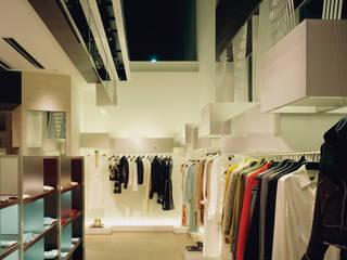 Filo di Seta Negozi & Locali commerciali moderni di Kazuyo Komoda (Design Studio) Moderno