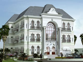 Dự án biệt nhà vườn 3 tầng - Anh Tho (Phú Yên):   by Biet Thu Nha Vuon