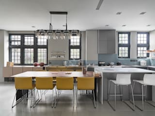 Cocinas de estilo moderno de WID建築室內設計事務所 Architecture & Interior Design Moderno