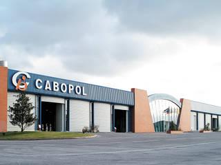 Cabopol - Industria de Polimeros, SA: Escritórios e Espaços de trabalho  por JOÂO MIGUEL PINHEIRO - Arquitectos Associados,Industrial