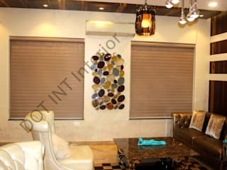 3 BHK house -Interior designs ideas- New Delhi:   by DOT INT