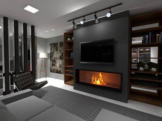 Cláudia Legonde Living room Grey