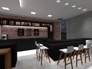 Cláudia Legonde Wine cellar Bricks Black