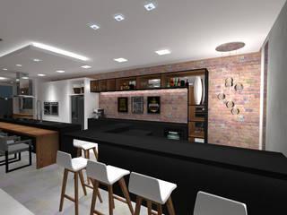 Bodegas de vino de estilo moderno de Cláudia Legonde Moderno