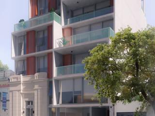 Hiên, sân thượng phong cách hiện đại bởi Mauricio Morra Arquitectos Hiện đại