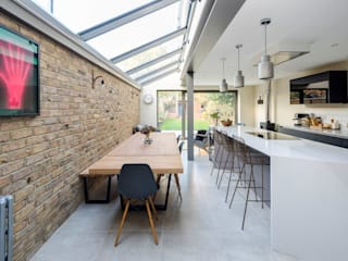 Ground Floor Kitchen Extension Ruang Makan Minimalis Oleh Resi Architects in London Minimalis
