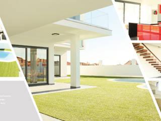 Casas de estilo minimalista de MTR2 - Arquitectura Design Engenharia Minimalista